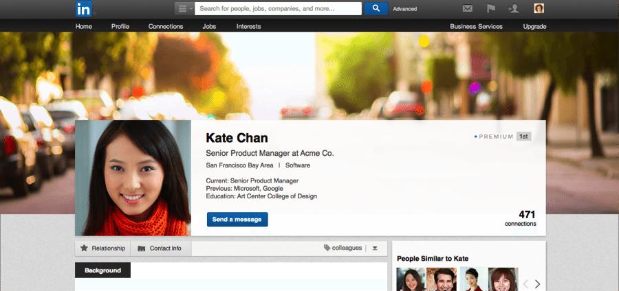 LinkedIn Premium Experience