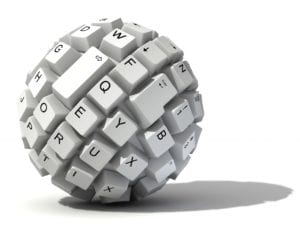 keyboard ball, types of keyboards, round keyboard