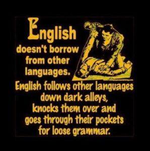 English Language Thuggery