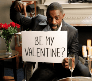 Idris Elba Valentine Video Marketing Humor